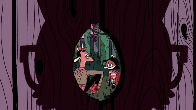 Illustration for article titled Exclusive preview: Jen Lee ponders animalistic identity in Vacancy