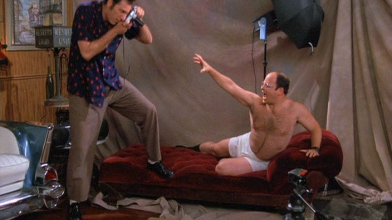 "Illustration for article titled Seinfeld: ""The Package""/""The Fatigues"""
