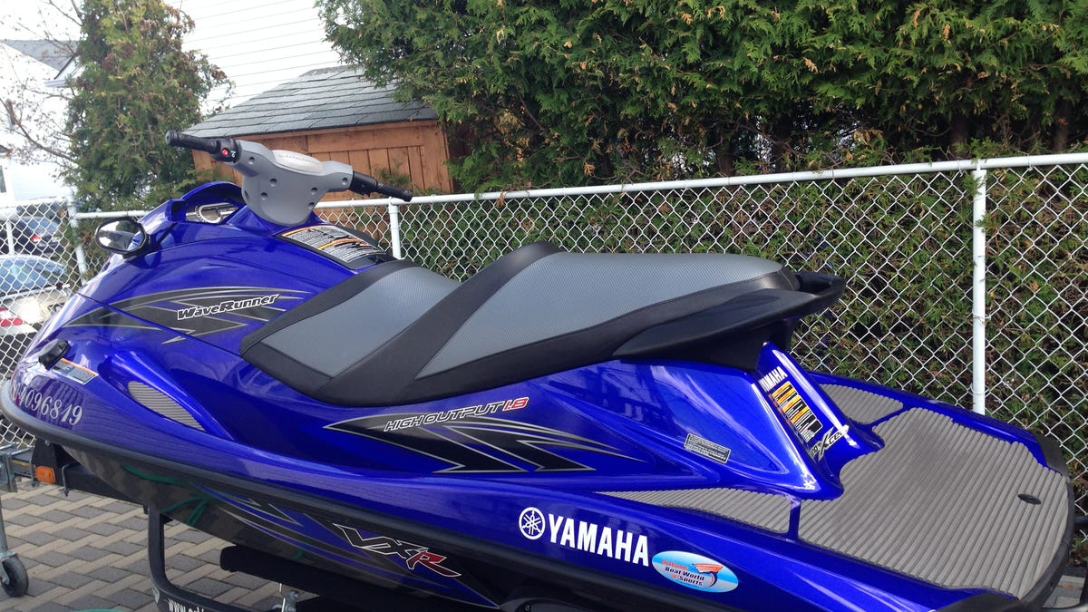 Jetskilopnik Review: 2013 Yamaha VXR