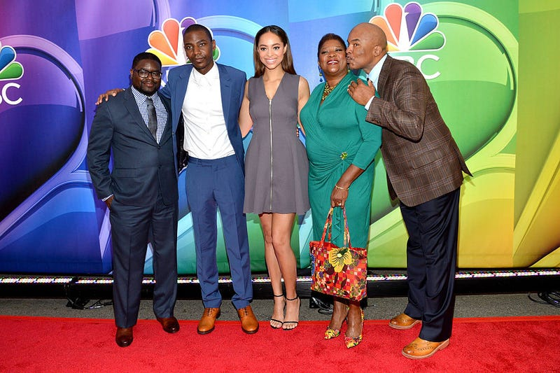 Lil Rel Howery, Jerrod Carmichael, Amber Stevens West, Loretta Devine and David Alan Grier (Slaven Vlasic/Getty Images)