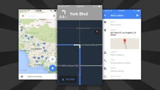 "Illustration for article titled Google Maps for iOS Will No Longer Blind You Thanks to ""Night Mode"""