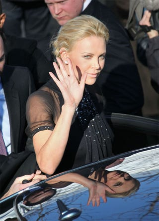 Illustration for article titled Charlize Looks Comely From Every Angle
