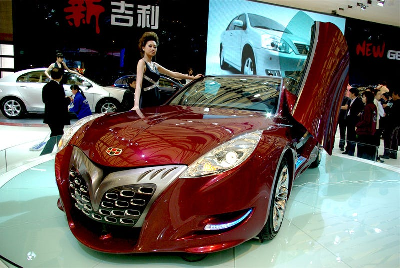 Illustration for article titled Geely GT Tiger: Chinese Super Car Gets Interior, New Name