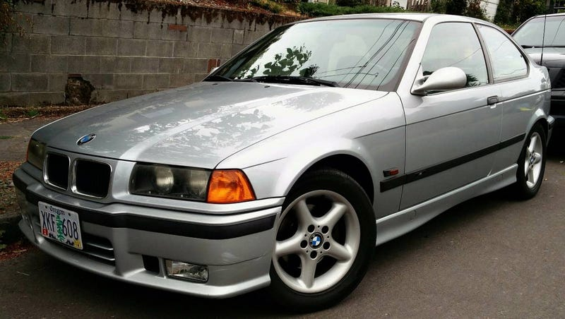 Illustration for article titled For $3,750, Could This 1996 BMW 318ti Hatch A Deal?