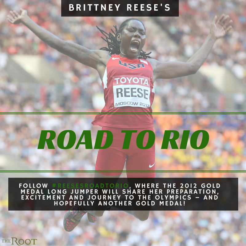 Illustration for article titled #ReesesRoadToRio: Meet Olympic Gold Medalist Long Jumper Brittney Reese