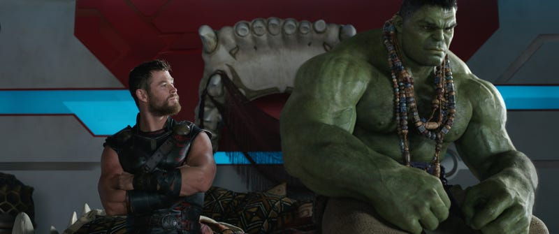 ragnarok gives thor the multiple buddy comedies he s always deserved