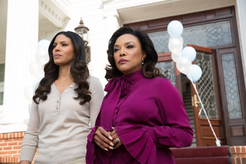 Merle Dandridge as Grace Greenleaf and Lynn Whitfield as Mae Greenleaf (OWN)