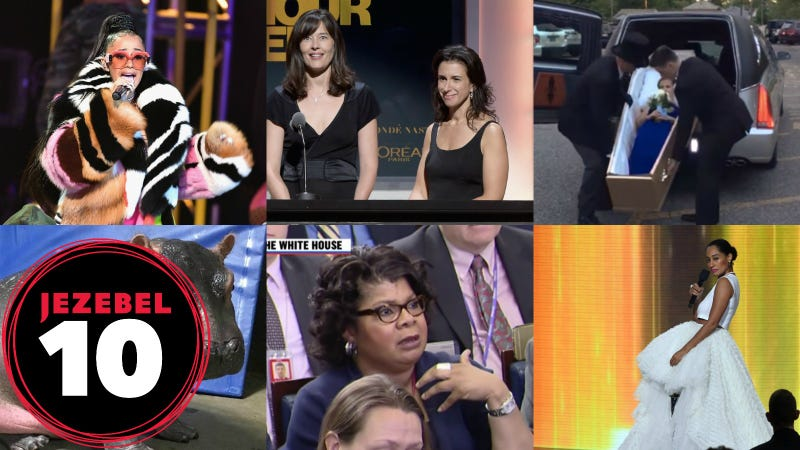Photos via Getty, Youtube/MSNBC