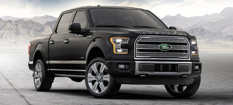 ford is testing the f 150 with a land rover diesel engine report. Black Bedroom Furniture Sets. Home Design Ideas