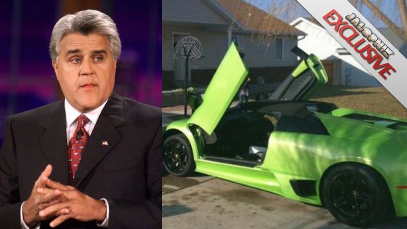 Illustration for article titled Man who crashed Lamborghini six hours after winning it asked Jay Leno to buy it