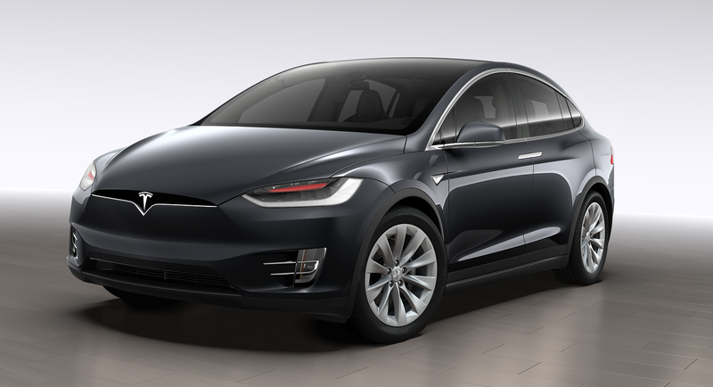 Illustration for article titled This Tesla Model X Is A Parking Lot Bully