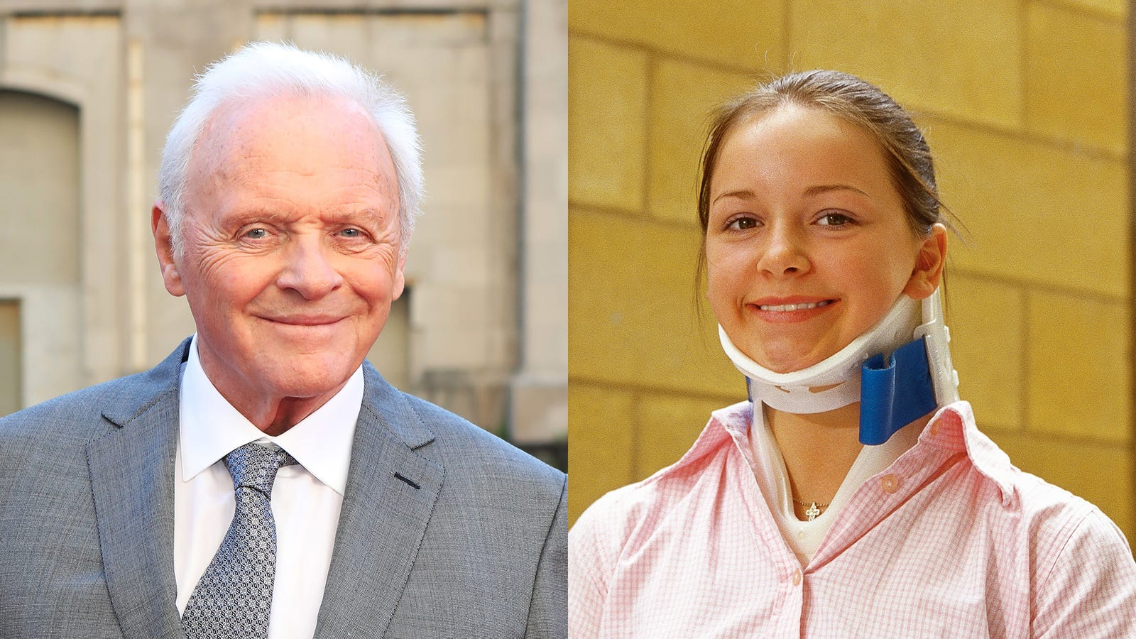 Not As Heartwarming As It Could Have Been: Anthony Hopkins Just Showed Up At This High School 8 Months Early To Ask A Girl With A Temporary Neck Brace To Prom