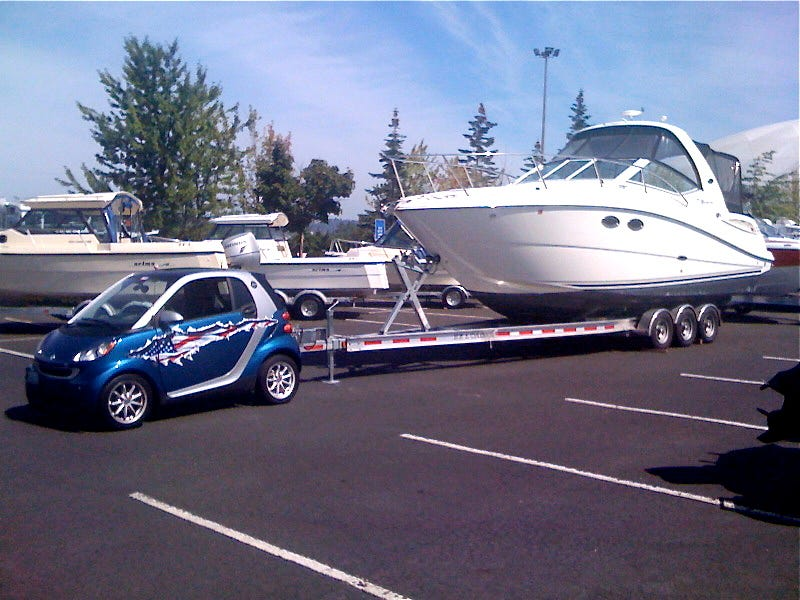 Towing With Vehicles Not Really Meant For Towing