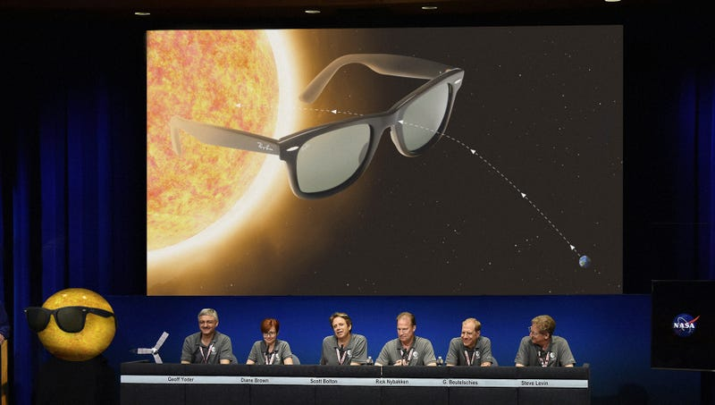 Illustration for article titled NASA Announces Plans To Place Giant Pair Of Shades On Sun
