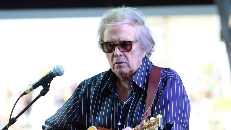 Illustration for article titled 'American Pie' Singer Don McLean Issues First Statement Following Domestic Violence Arrest