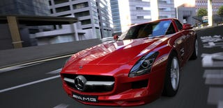 Illustration for article titled The Real Mercedes SLS AMG In Gran Turismo 5