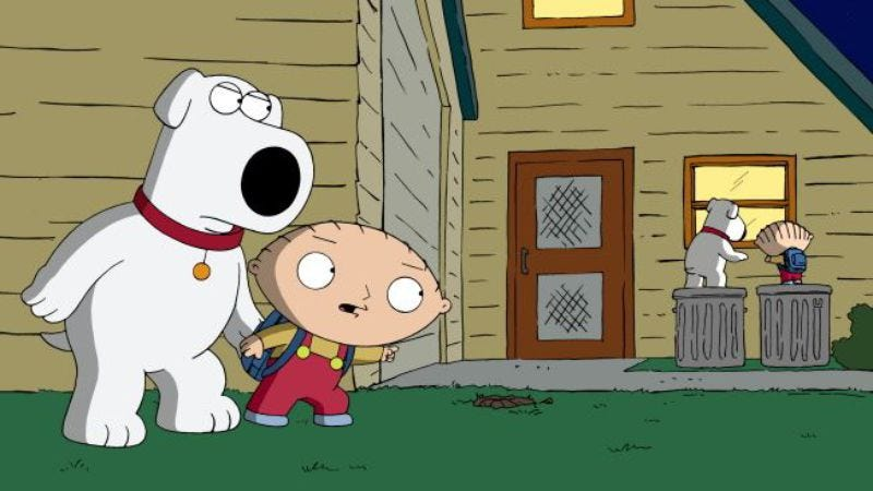 """Illustration for article titled Family Guy: """"Back To The Pilot"""""""
