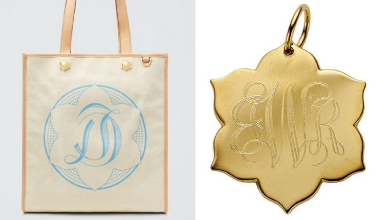 A Draper James tote and a Magnolia Flat Charm from Weingartner's collection