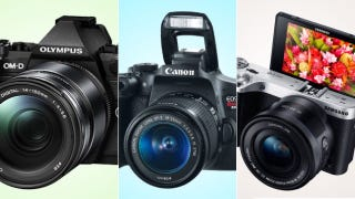Illustration for article titled Here's the Motherlode of New Cameras Announced This Week
