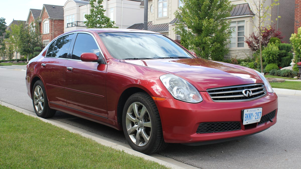 2006 Infiniti G35x: The Oppo Review