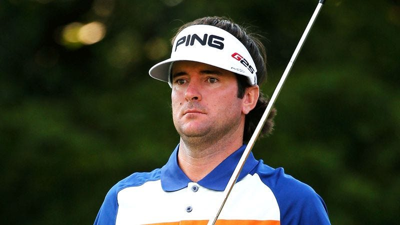 Illustration for article titled Bubba Watson Horrified To Learn Two-Thirds Of Earth Covered In Water Hazards
