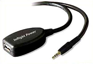 Illustration for article titled InFlight Power Adapter Keeps you Rockin' All The Way to Beijing