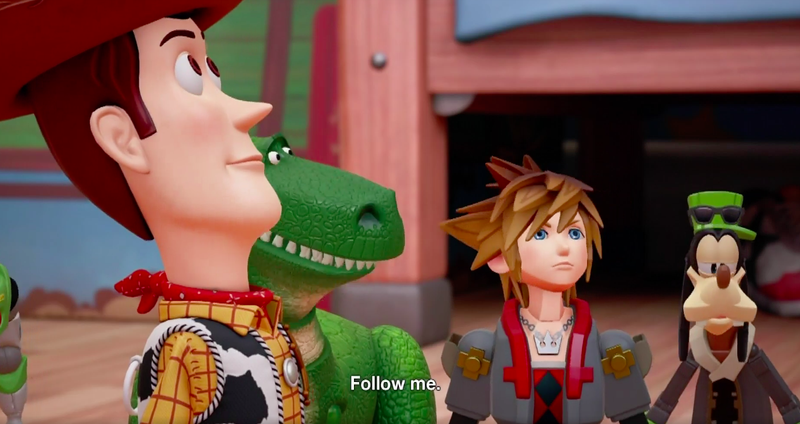 Toy Story 4 Trailer 2012 : Kingdom hearts iii coming has a toy story world
