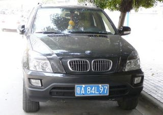 Illustration for article titled DIY BMW SUV Spotted Down On The Beijing Street