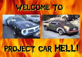 Illustration for article titled Project Car Hell: Firebird or Capri?