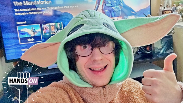 io9 Investigates: Will Wearing a Giant Baby Yoda Onesie Improve Your Mandalorian Viewing Experience?