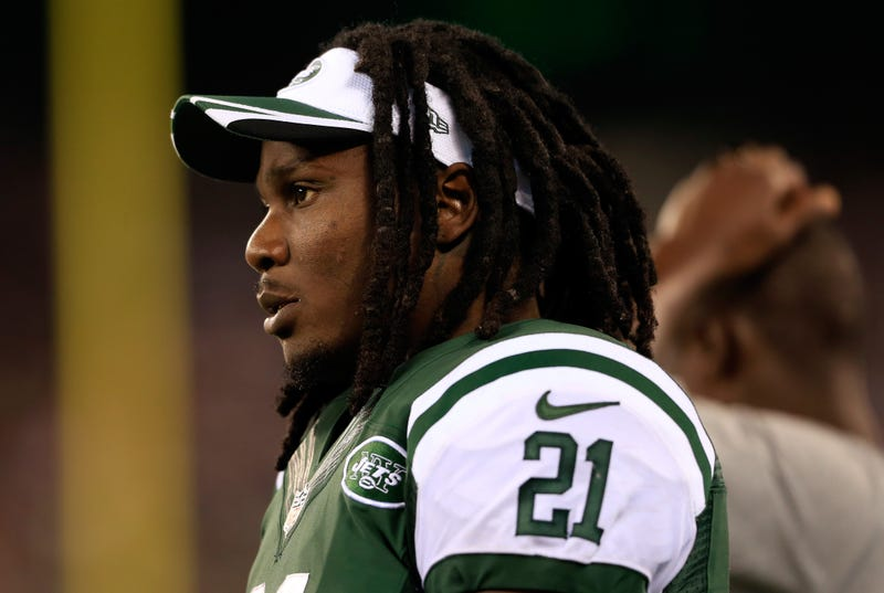 Illustration for article titled Jets RB Chris Johnson Arrested For Openly Carrying A Firearm: Reports