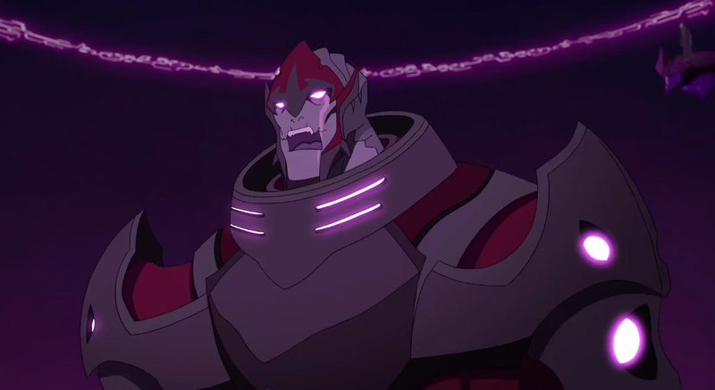 Illustration for article titled There's No Escaping Zarkon in the New Trailer forVoltron: Legendary DefenderSeason Two