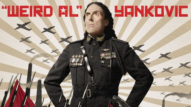 """Illustration for article titled """"Weird Al"""" announces new batch of dates for his Mandatory World Tour"""