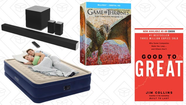 Sunday's Best Deals: Fitbit, Game of Thrones, Nonfiction eBooks, and More