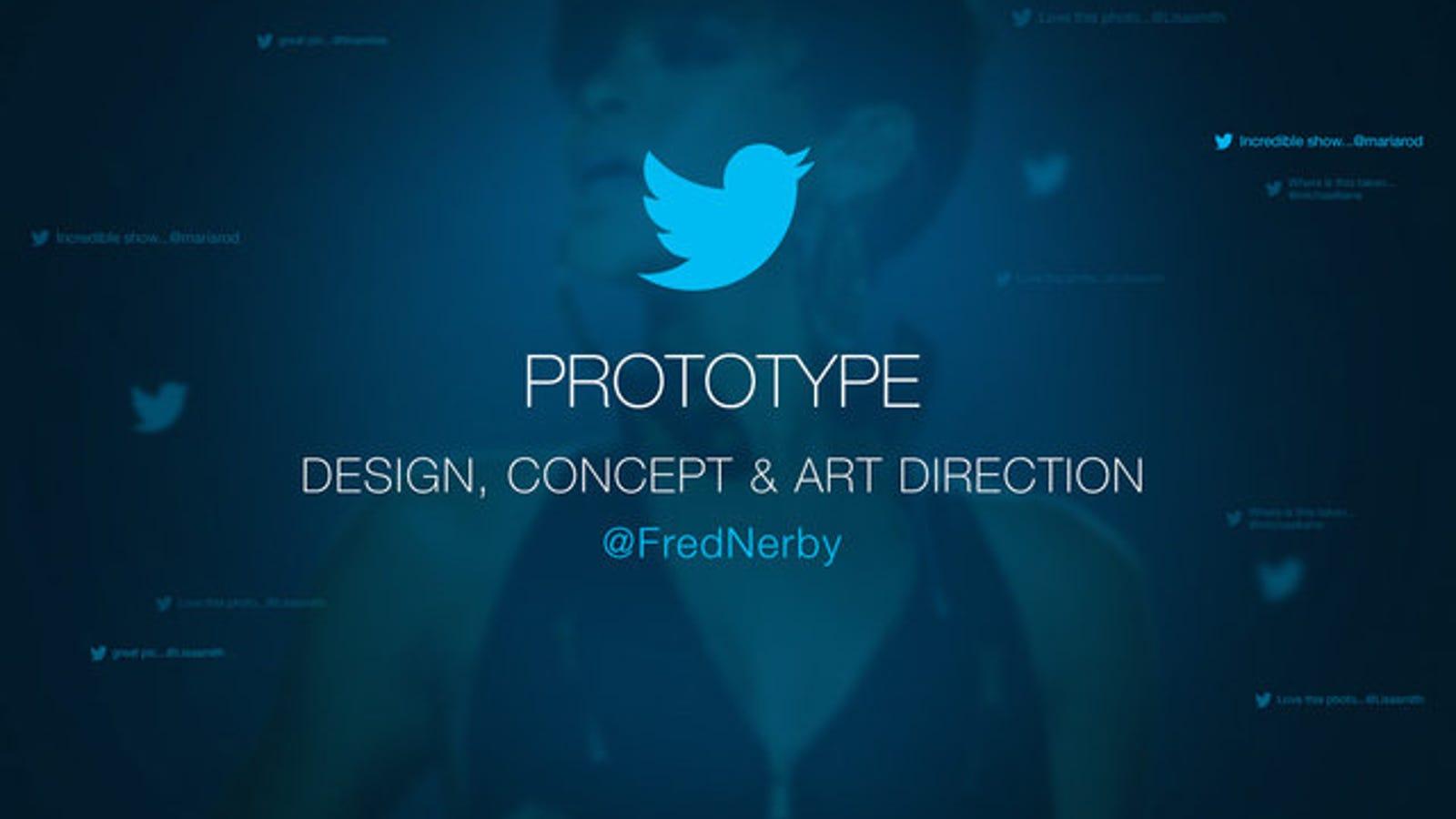 ¿Y si Twitter tuviera un buen diseño?