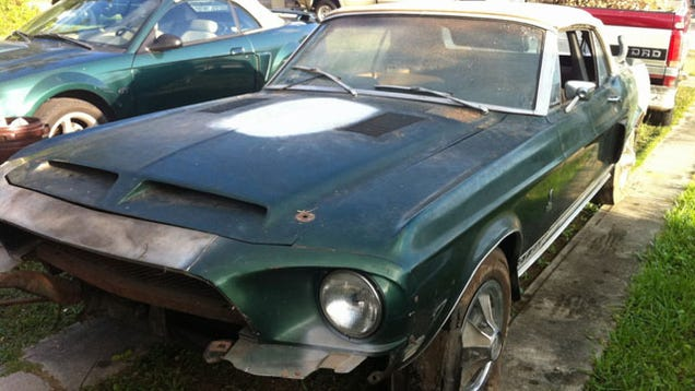 Garage Fresh 1968 Shelby Gt500 Proves Ultra Rare Project