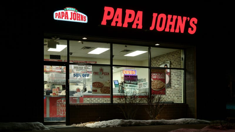 Illustration for article titled This Papa John's thing is never going to be over, is it