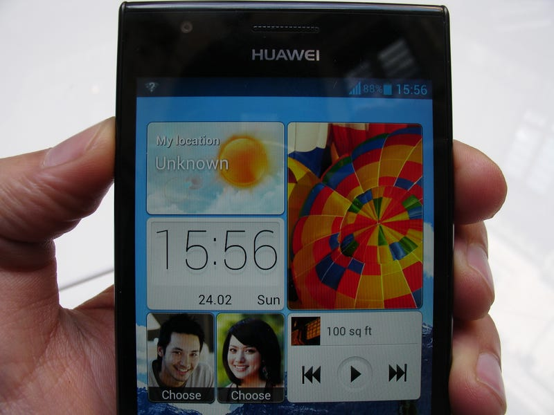 Illustration for article titled Así es el Ascend P2, el nuevo smartphone de alta gama de Huawei