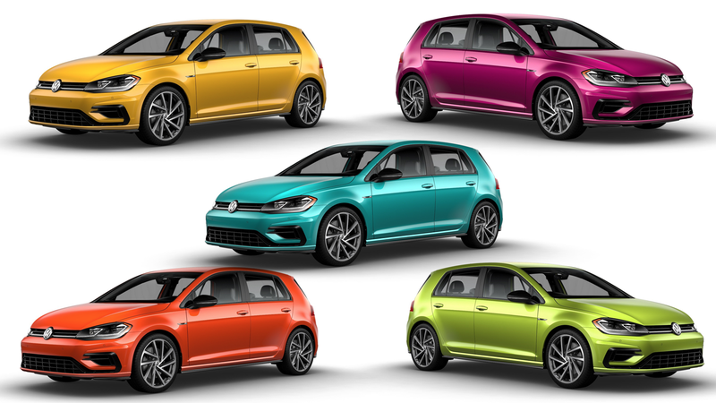 Illustration for article titled Volkswagen Is Finally Bringing Back Some Good Colors To America But It's Not Cheap