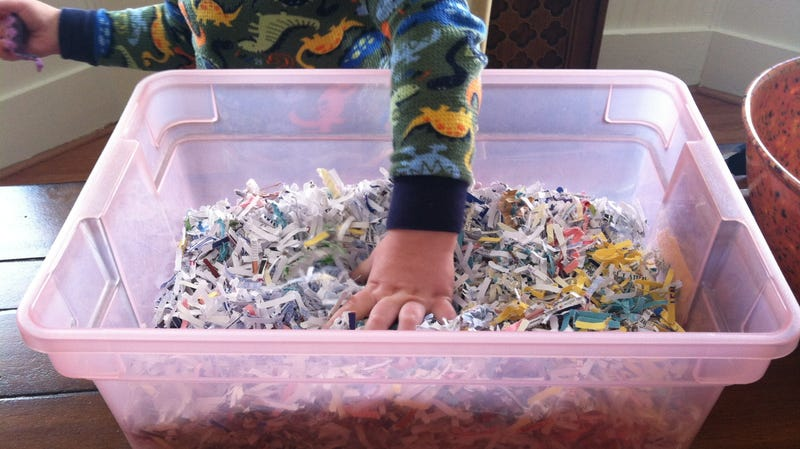 Create Sensory Bins for Your Toddler With Stuff You Already Have