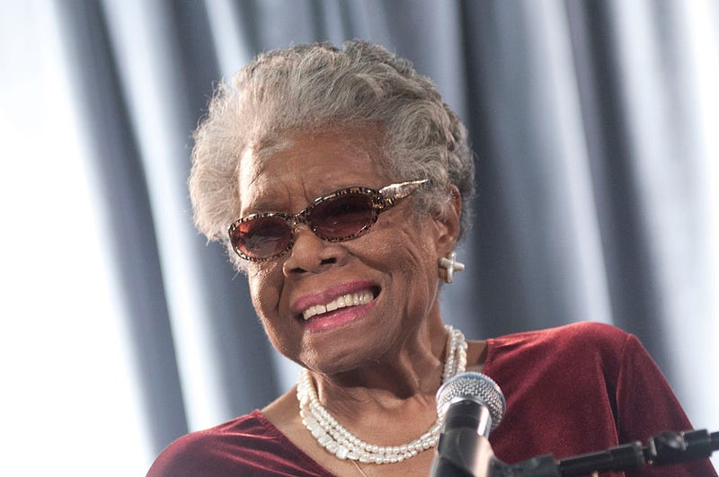 Maya Angelou speaks during the AARP Magazine's 2011 Inspire Awards December 9, 2010 in Washington, DC.