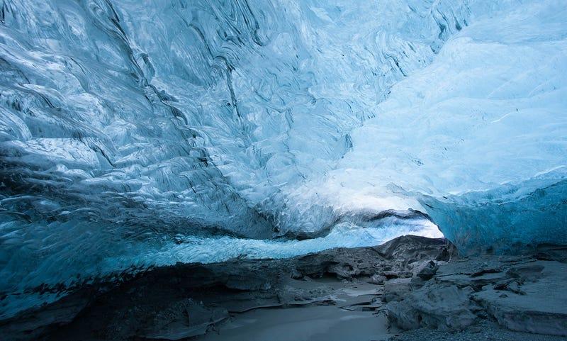 Descubren enormes dunas de grava de cientos de metros de alto bajo la capa de hielo de la Antártida