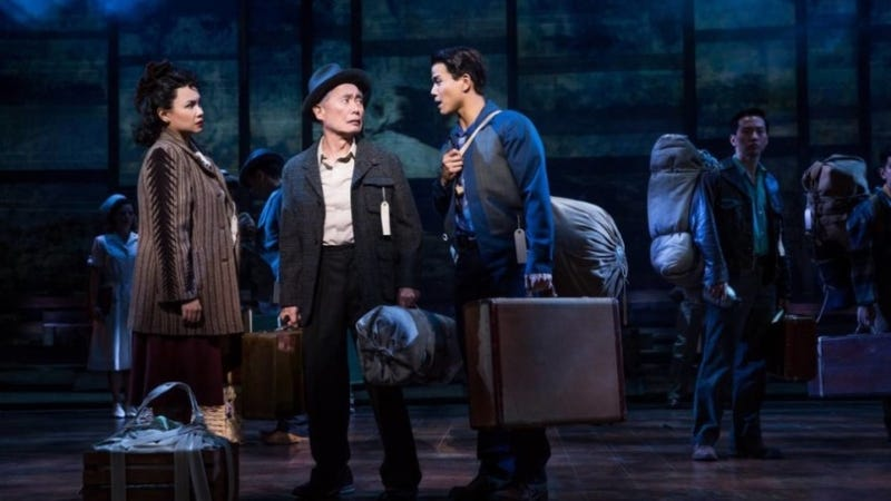 A scene from George Takei's 2015-16 play, Allegiance / Image: Allegiance Musical