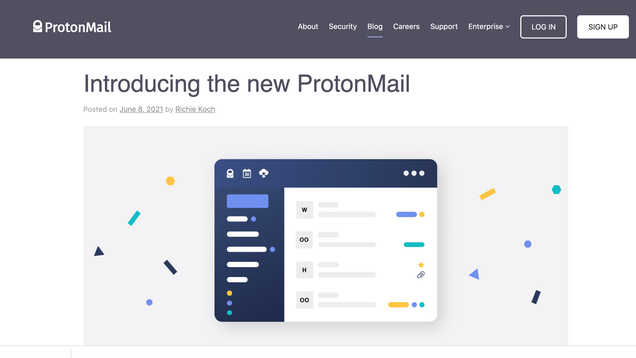 ProtonMail Unveils an Overdue Makeover and New Features