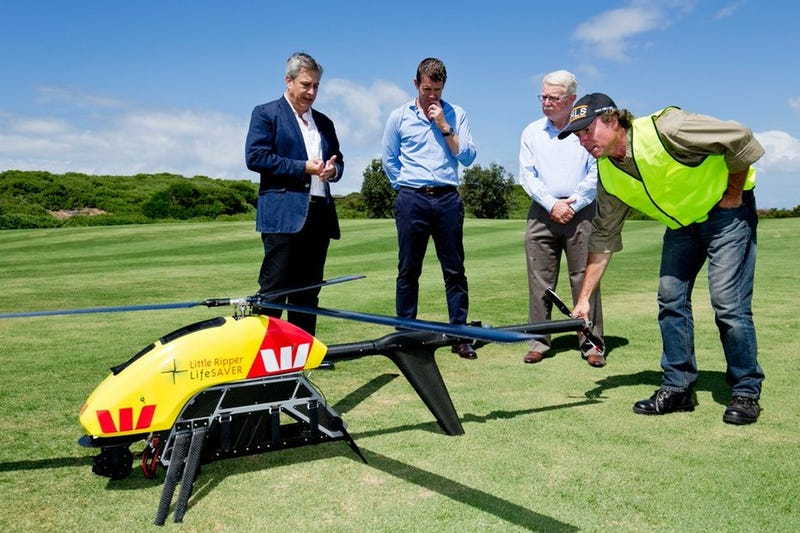 Illustration for article titled Australian Lifeguards Are Getting a $200,000 Drone to Spot Sharks