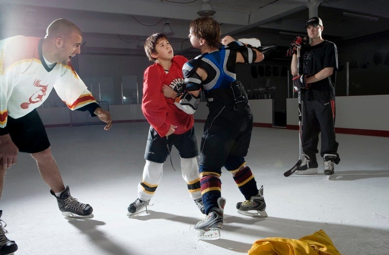 Illustration for article titled School Of Fight: Learning To Brawl With The Hockey Goons Of Tomorrow (Deadspin Classic)