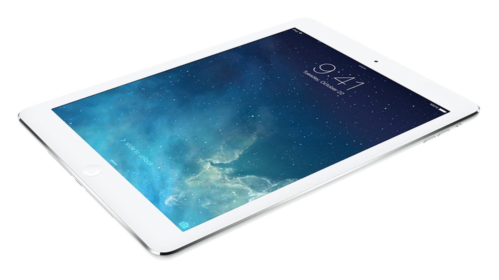 iPad Air: así es el iPad más fino y ligero diseñado por Apple