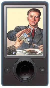 Illustration for article titled $99 30GB Black Zune That Gets All the New Zune's Features