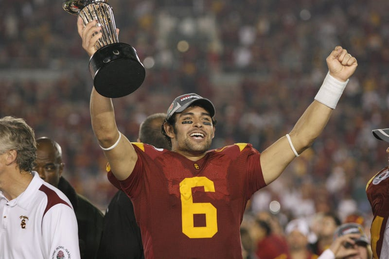 Illustration for article titled Presented Without Comment: Mark Sanchez To Receive USC's Young Alumni Merit Award