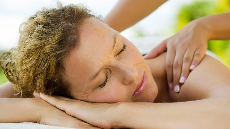 Illustration for article titled Woman Worried She Doing Bad Job Enjoying Massage